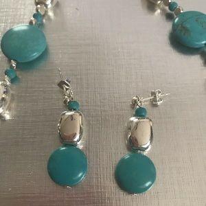 Handmade necklace by Cheryl Lynn.